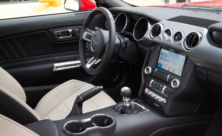2016 Ford Mustang 2.3L EcoBoost and 2016 Chevrolet Camaro RS V-6 - Slide 10
