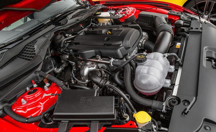 2016 Ford Mustang 2.3L EcoBoost and 2016 Chevrolet Camaro RS V-6 - Slide 11