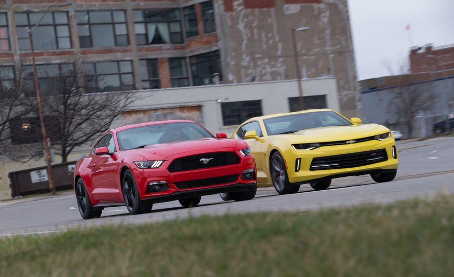 2016 Ford Mustang 2.3L EcoBoost and 2016 Chevrolet Camaro RS V-6 - Slide 2
