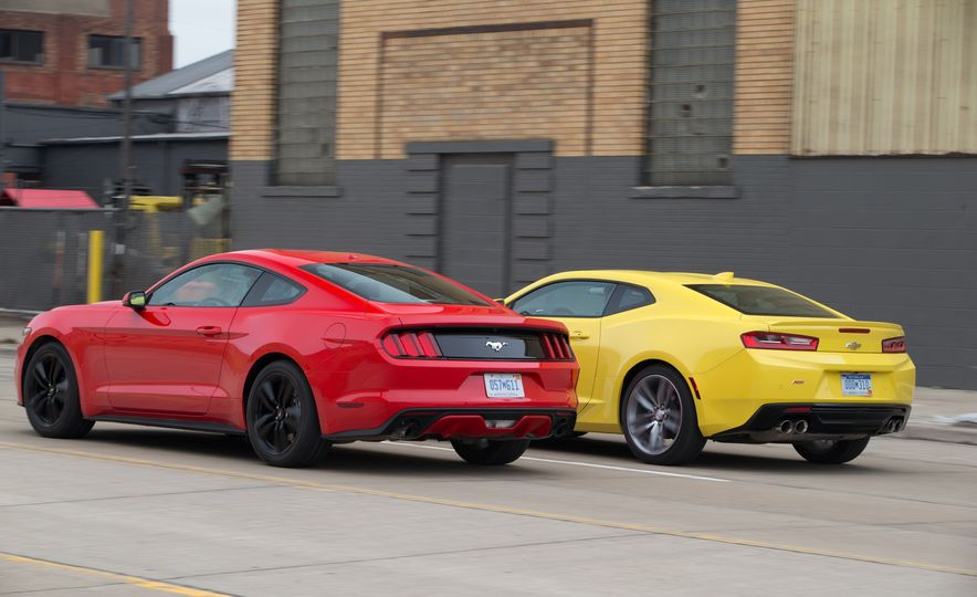 2016 Ford Mustang 2.3L EcoBoost and 2016 Chevrolet Camaro RS V-6 - Slide 3