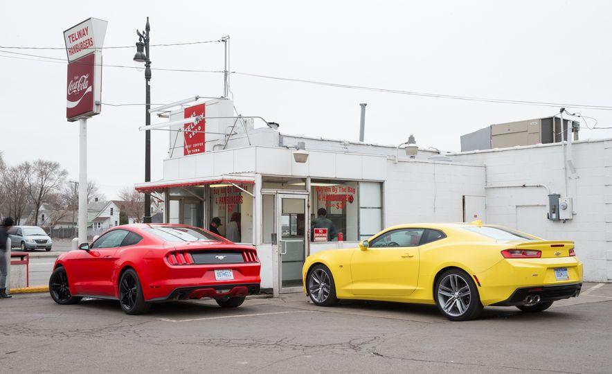 2016 Ford Mustang 2.3L EcoBoost and 2016 Chevrolet Camaro RS V-6 - Slide 5