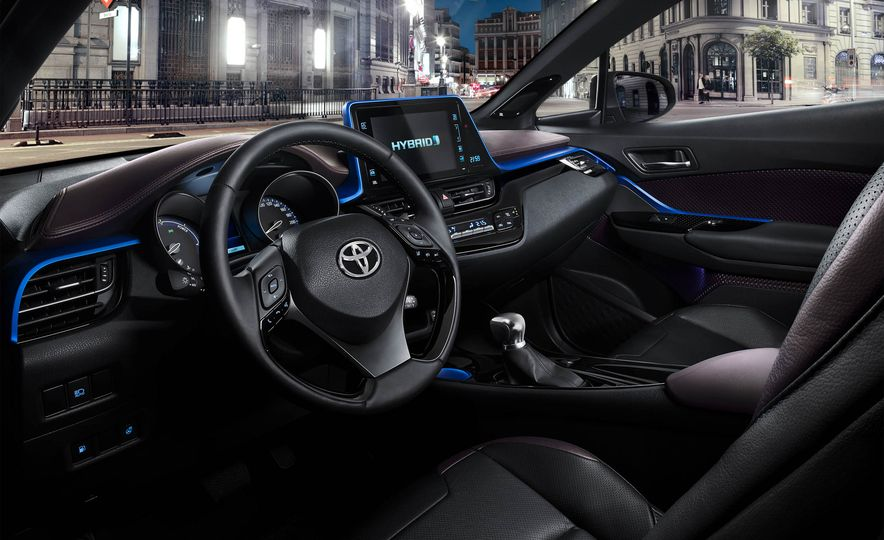 2016 Toyota C-HR - Slide 12