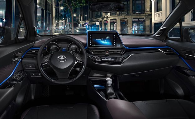 2017 Toyota C Hr Interior Does The Craziness Continue Inside