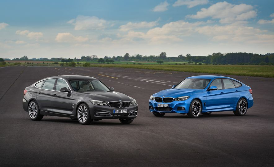 2017 BMW 3-series GT and 340i GT M Sport - Slide 1