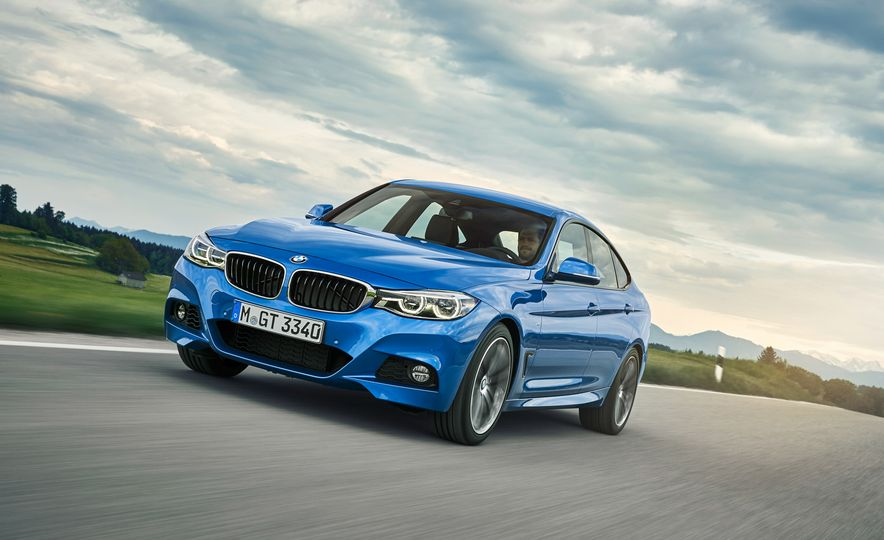 2017 BMW 3-series GT and 340i GT M Sport - Slide 8