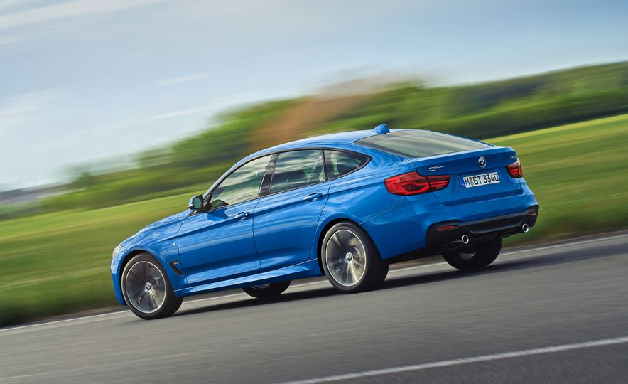2017 BMW 3-series GT and 340i GT M Sport - Slide 10