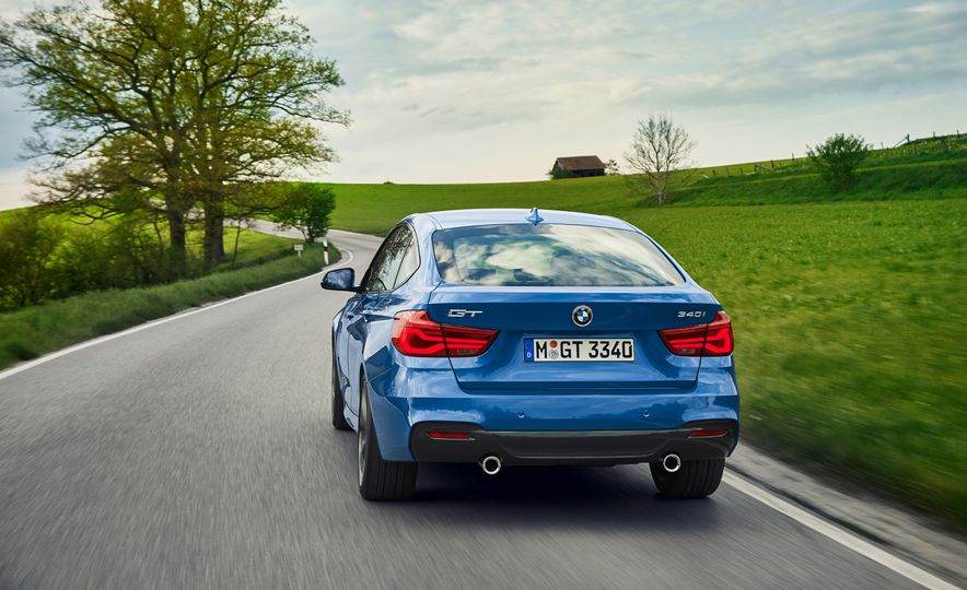 2017 BMW 3-series GT and 340i GT M Sport - Slide 11