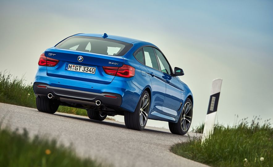 2017 BMW 3-series GT and 340i GT M Sport - Slide 12