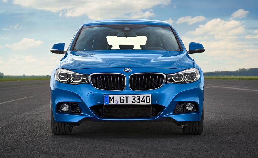 2017 BMW 3-series GT and 340i GT M Sport - Slide 14