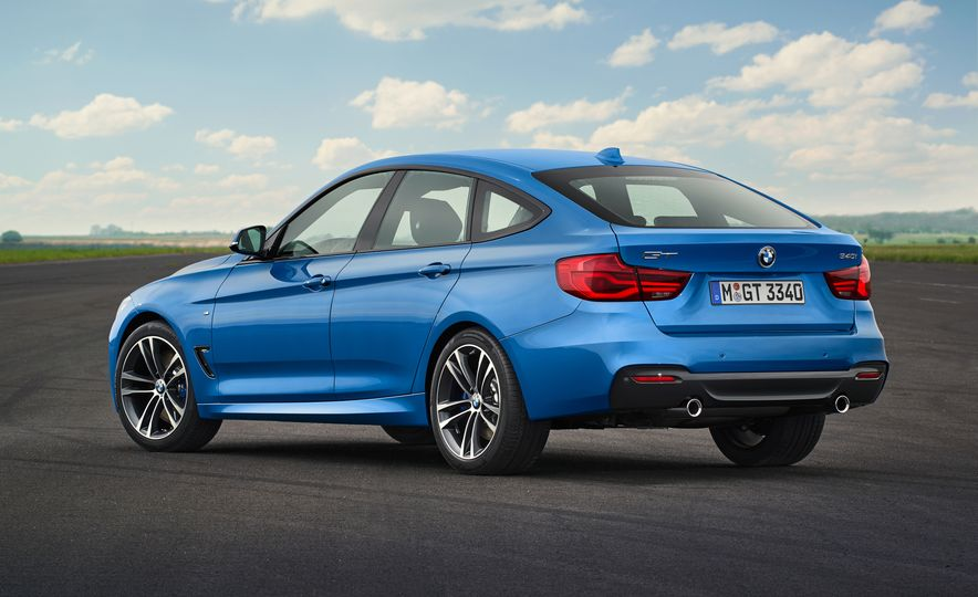 2017 BMW 3-series GT and 340i GT M Sport - Slide 15