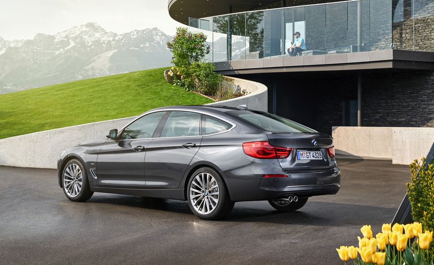 2017 BMW 3-series GT and 340i GT M Sport - Slide 33