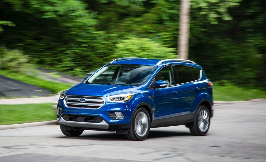 2017 Ford Escape 1.5 EcoBoost Titanium - Slide 4