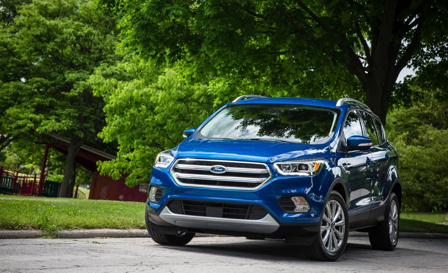 2017 Ford Escape 1.5 EcoBoost Titanium - Slide 13