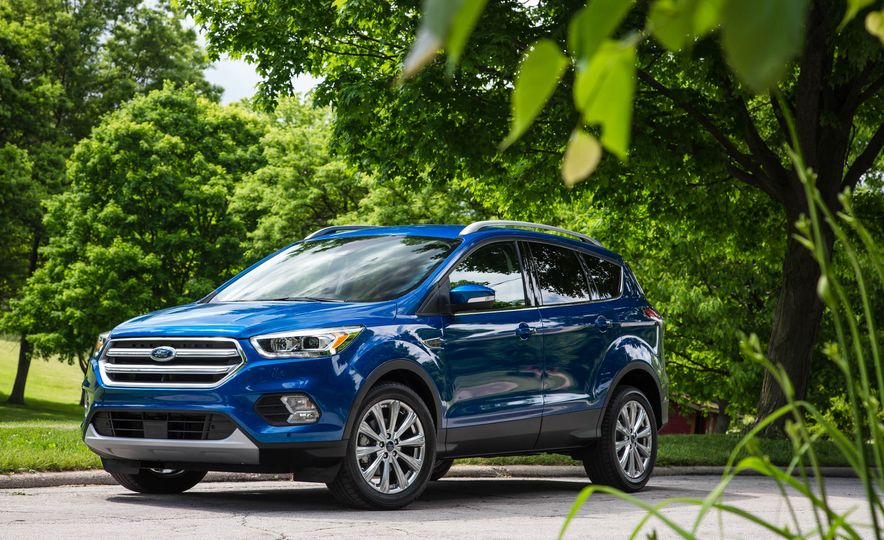 2017 Ford Escape 1.5 EcoBoost Titanium - Slide 14