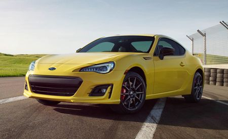 2017 Subaru BRZ Series.Yellow Is Really, Really, Yellow