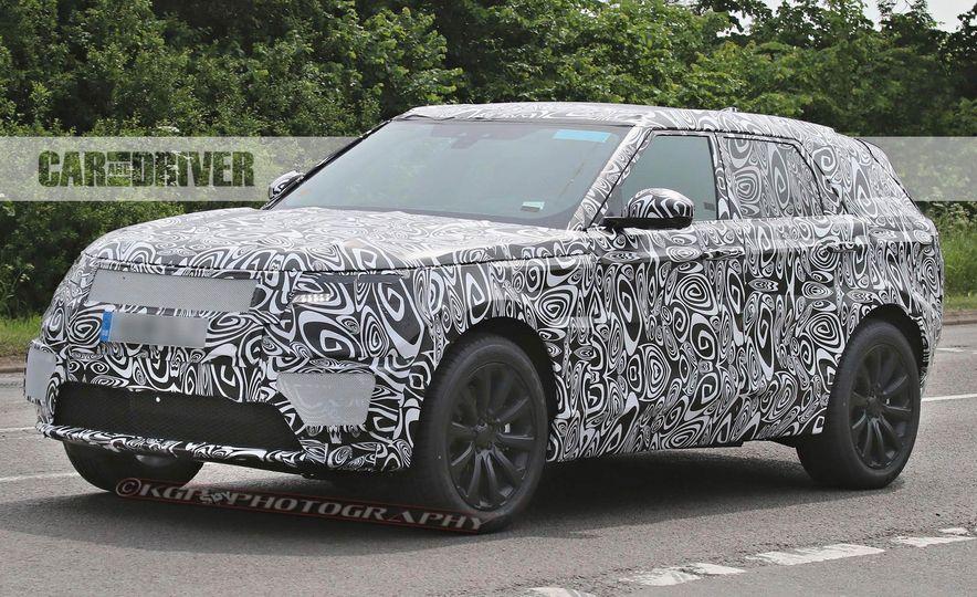 2018 Land Rover Range Rover Sport coupe spy photo  Photo