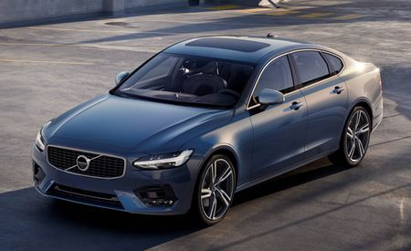 Volvo Amps Up S90 and V90 with Sporty-Looking R-Design Trim
