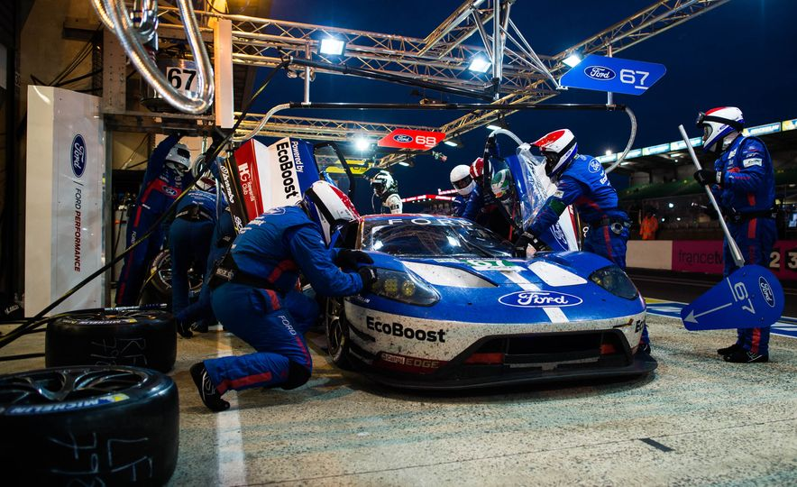 U-S-A! U-S-A! Ford Steamrolls GTE Class at 2016 24 Hours of Le Mans! - Slide 23