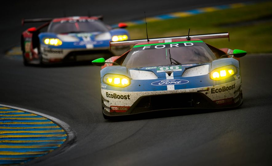U-S-A! U-S-A! Ford Steamrolls GTE Class at 2016 24 Hours of Le Mans! - Slide 27