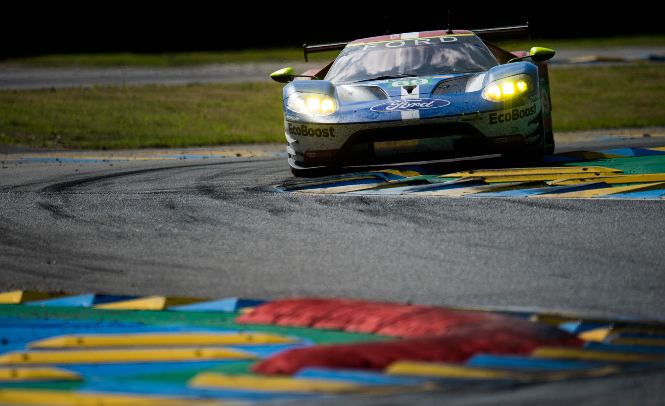Ford Steamrolls Gte Class At   Hours Of Le Mans