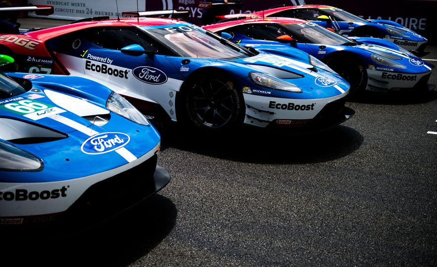 Ford GT race cars - Slide 1