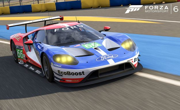 Forza Adds  Ford Gt Race Car Just In Time For  Le Mans Race News Car And Driver