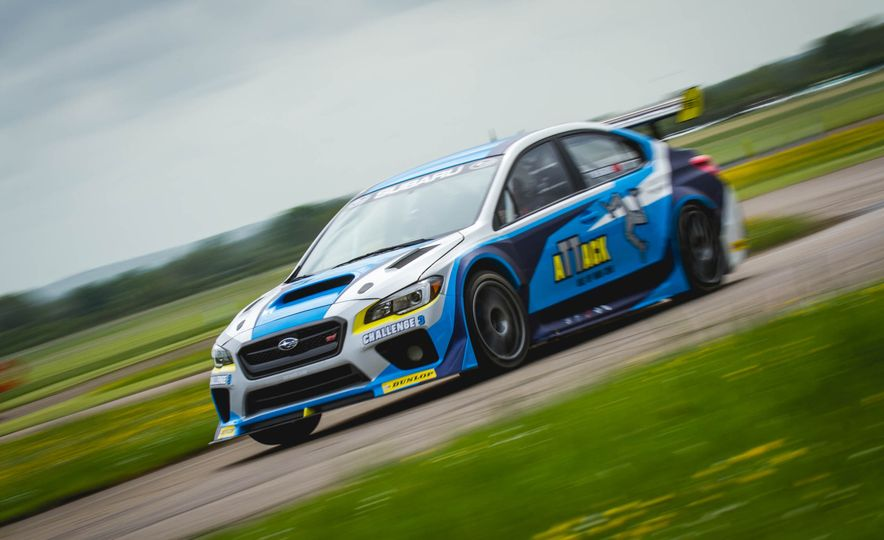 Extra Manly: The Subaru WRX STI Custom-Made for the Isle of Man Circuit - Slide 1