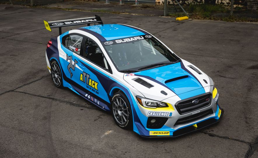 Extra Manly: The Subaru WRX STI Custom-Made for the Isle of Man Circuit - Slide 2