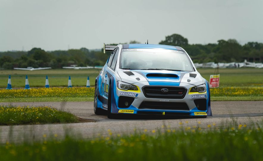 Extra Manly: The Subaru WRX STI Custom-Made for the Isle of Man Circuit - Slide 5