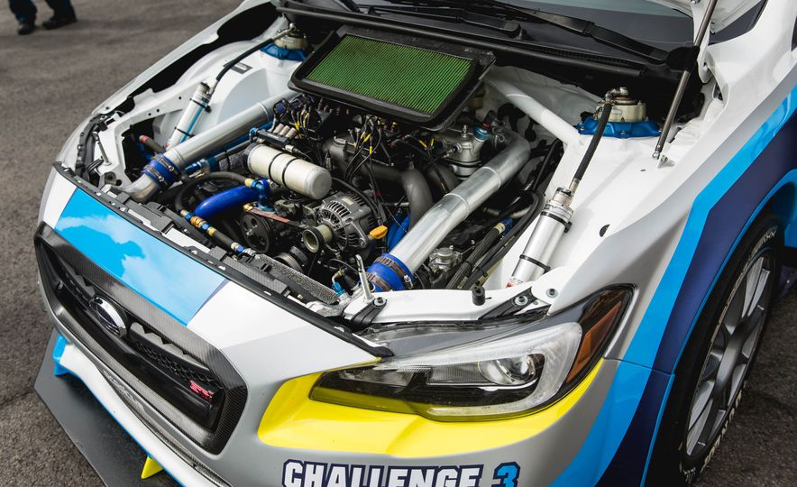 Extra Manly: The Subaru WRX STI Custom-Made for the Isle of Man Circuit - Slide 7