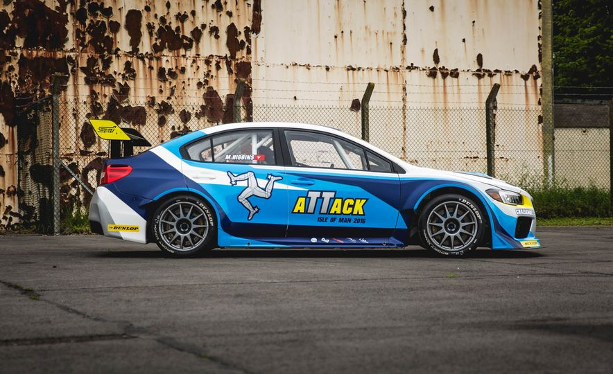Extra Manly: The Subaru WRX STI Custom-Made for the Isle of Man Circuit - Slide 10