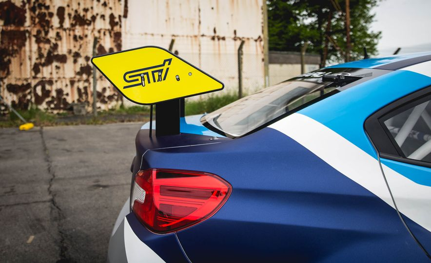 Extra Manly: The Subaru WRX STI Custom-Made for the Isle of Man Circuit - Slide 11