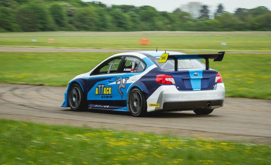 Extra Manly: The Subaru WRX STI Custom-Made for the Isle of Man Circuit - Slide 14