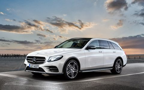 New Mercedes E-class All Terrain Wagon Ventures (Not Far) Off Road