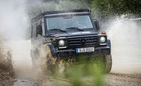 "Back to Basics: Mercedes-Benz G-wagen ""Professional"" Returns"