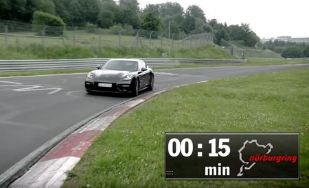 That Was Fast: Porsche's New Panamera Turbo Has Set a Lap Record at the Nurburgring