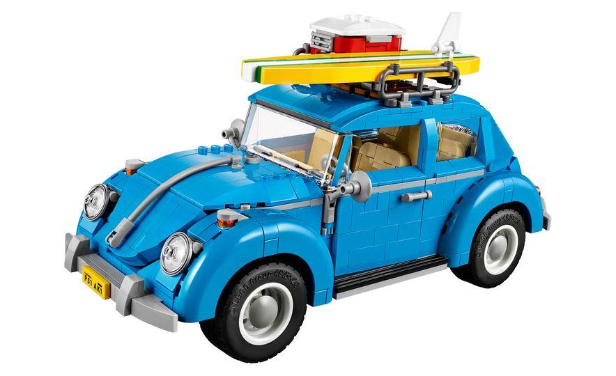 Volkswagen Beetle Lego Model - Slide 1