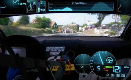 Man-Sized Action: Subaru Releases Narrated In-Car Video of Mark Higgins IoMTT Record Lap