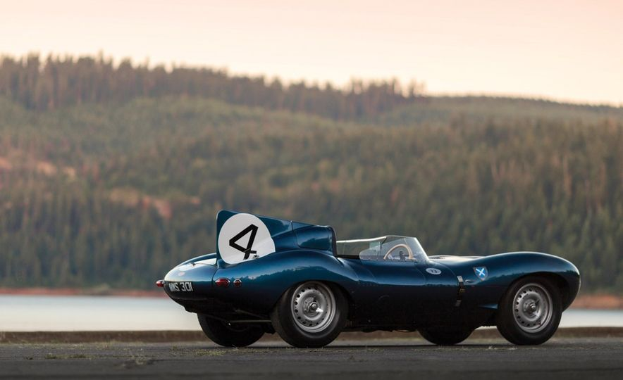 1955 Jaguar D-Type - Slide 17