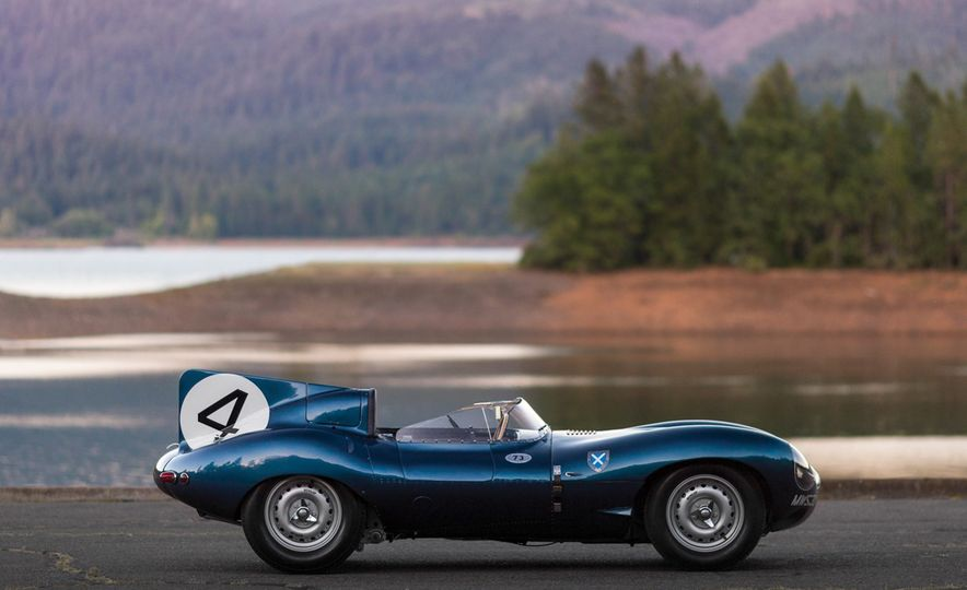 1955 Jaguar D-Type - Slide 18