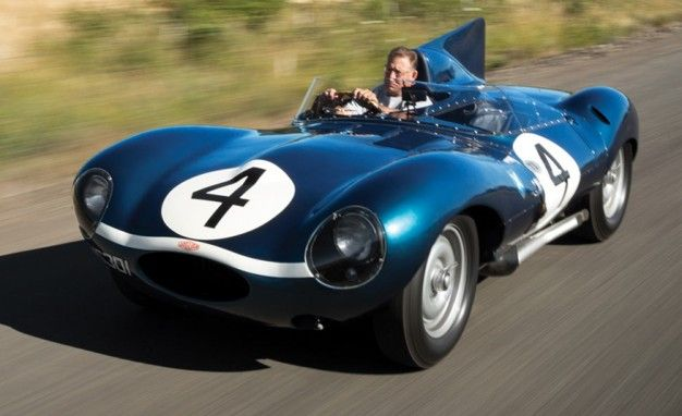 Le Mans–Winning Jaguar D-Type Headed for Auction – News – Car and Driver