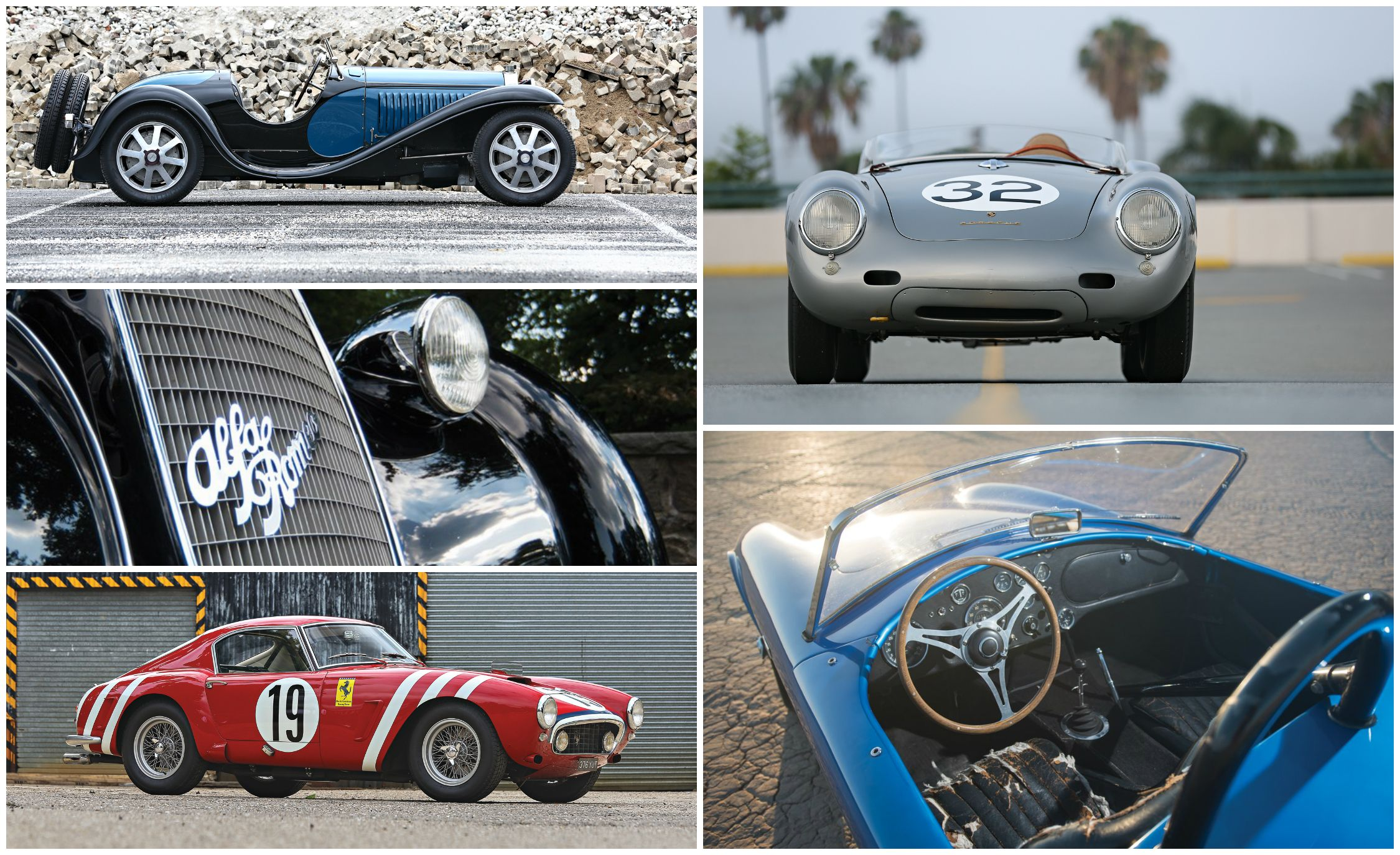 The 30 Cars Expected to Sell for the Most Money at the 2016 Pebble