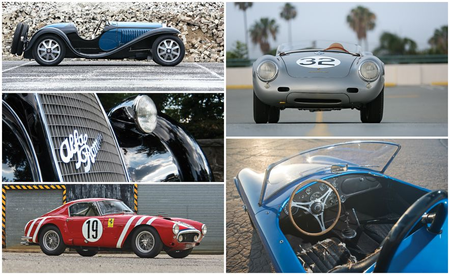 The 30 Cars Expected to Sell for the Most Money at the 2016 Pebble Beach Auctions - Slide 1