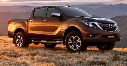 Mazda Picks Isuzu As Pickup Partner