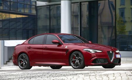 U.S.-Bound Alfa Romeo Giulia Quadrifoglio Nixes Manual Transmission