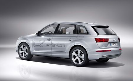 Don't Wait Up for Audi Q7 e-tron Plug-In Hybrid; Electric e-tron Crossover Likely Instead