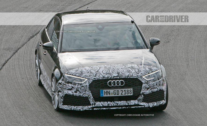 2018 Audi RS3 sedan (spy photo) - Slide 5
