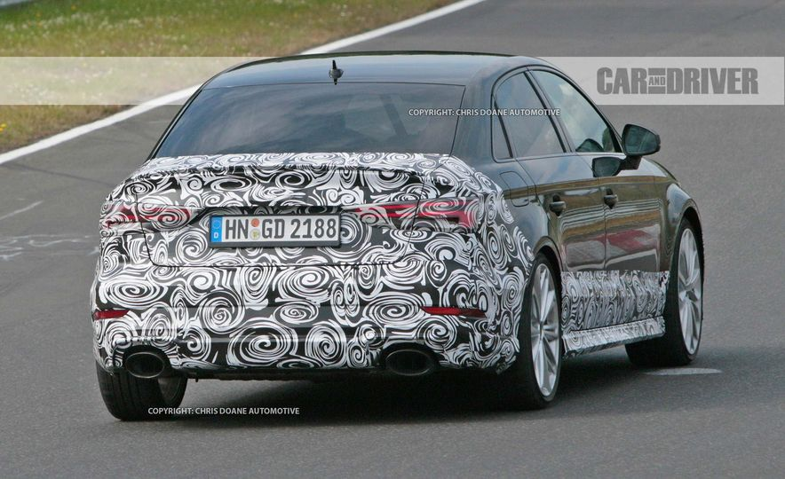 2018 Audi RS3 sedan (spy photo) - Slide 9