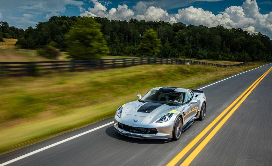 2017 Chevrolet Corvette Grand Sport - Slide 11