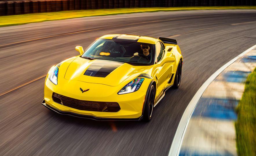 2017 Chevrolet Corvette Grand Sport - Slide 55